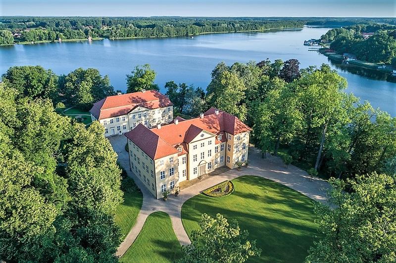 Schloss Mirow in der mecklenburgischen Seenplatte
