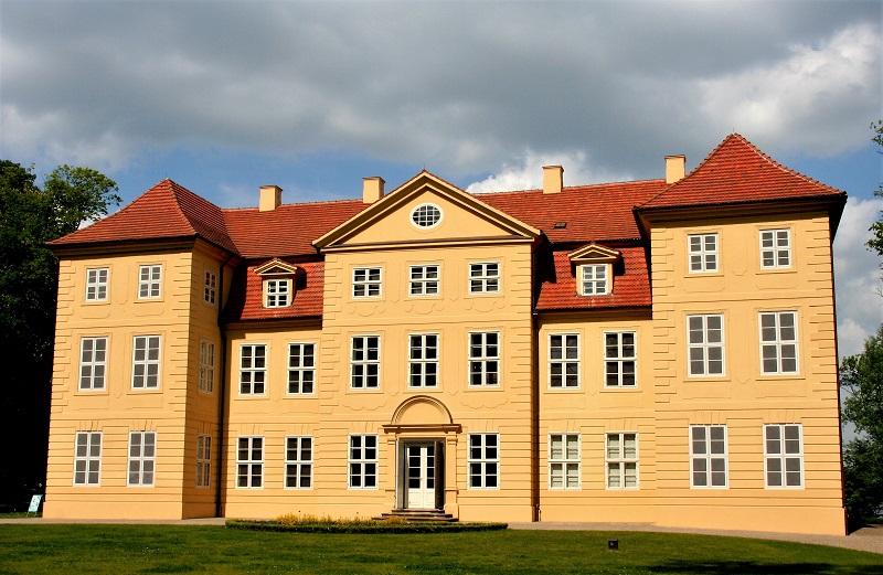 Schloss Mirow wurde sorgfältig restauriert