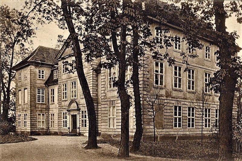 Historische Aufnahme Schloss Mirow