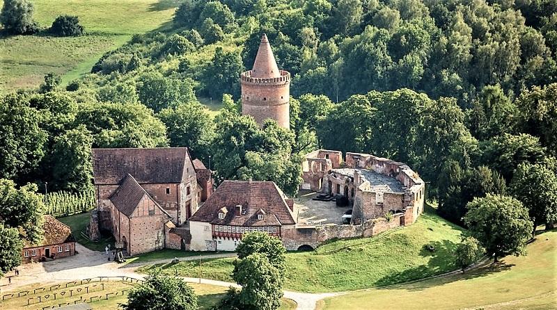 Burg Stargard in der Mecklenburgischen Seenplatte: Blick auf die Burganlage. Foto: Archiv Nordkurier
