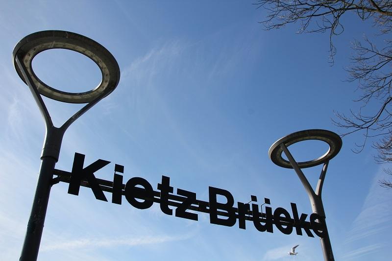 Start und Ziel: Kietz Brücke in Waren