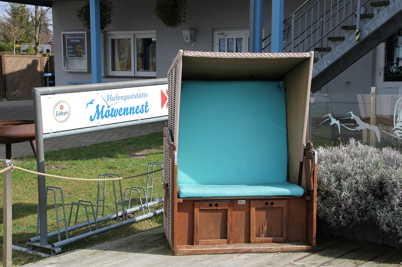 Strandkorb in Rechlin