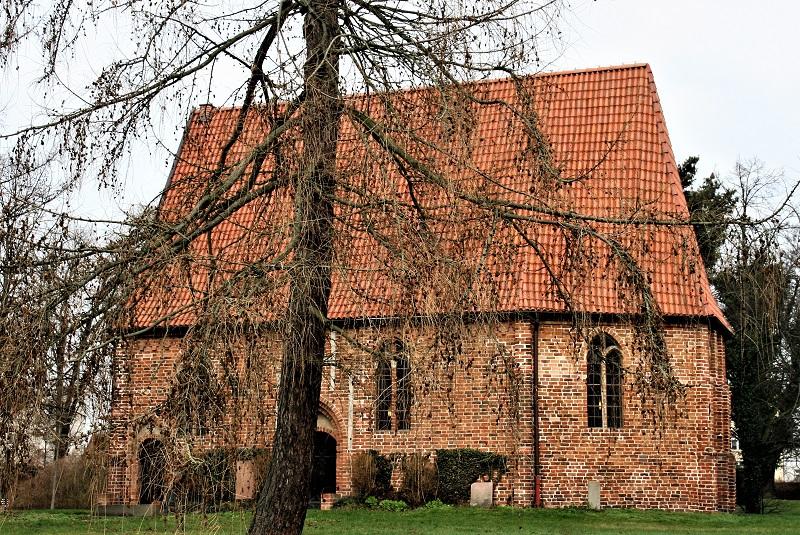 Die Gertrudenkapelle ist ein spätgotischer Backsteinbau aus dem 15. Jahrhundert.