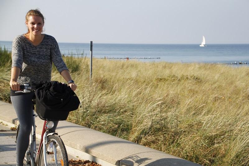 Unsere Reporterin fuhr den Ostseeküstenradweg von Rerik bis nach Warnemünde.