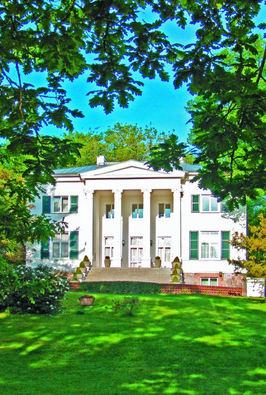 Die Heringsdorfer Villa Oppenheim gehörte zu den Lieblingsmotiven des deutsch-amerikanischen Malers Lyonel Feininger.