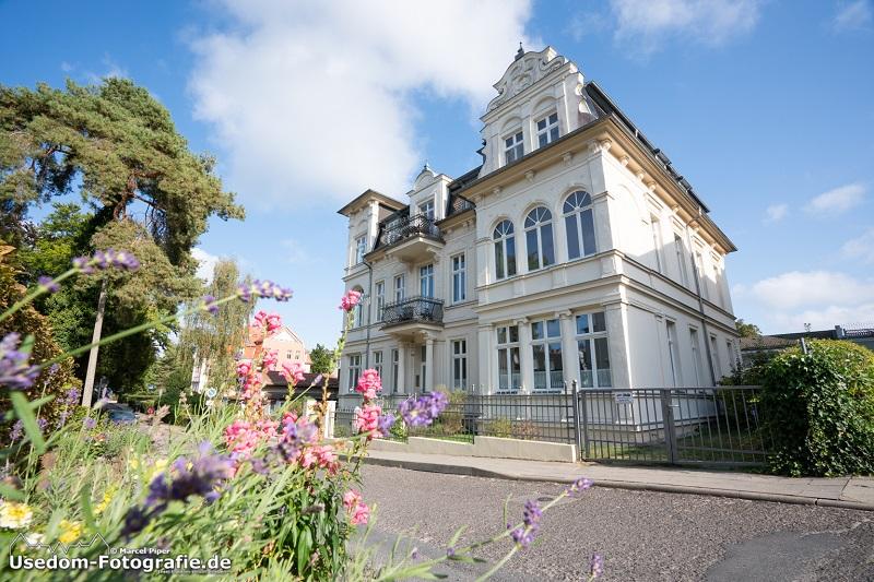 Bäder-Villa auf der Insel Usedom aus der Kaiserzeit