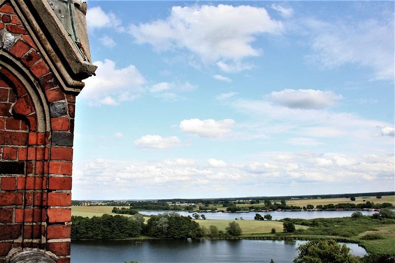 Blick von der Marienkirche auf die Umgebung von Röbel