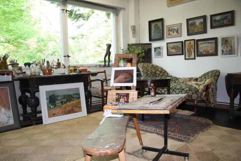 Atelier Otto Niemeyer-Holstein auf der Insel Usedom.