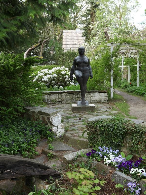 Garten Otto Niemeyer-Holstein auf der Insel Usedom.